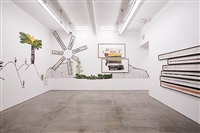 "photographs from ""i want it louder"" exhibition at gladstone gallery by dave muller"