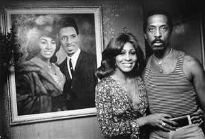 ike and tina turner at home, los angeles by steve schapiro