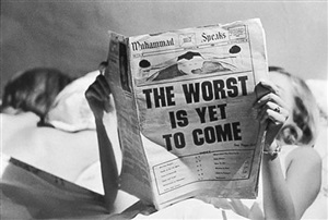 the worst is yet to come, new york by steve schapiro