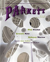 parkett, no 78: collaborations: olaf nicolai ernesto neto rebecca warren isbn 3-907582-38-1$32.00