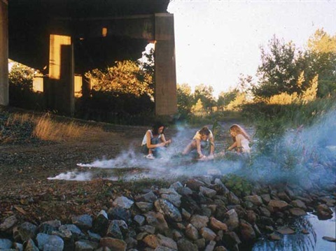 smoke bombs by justine kurland