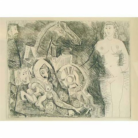 bloch 1528 (from the 347 series) by pablo picasso