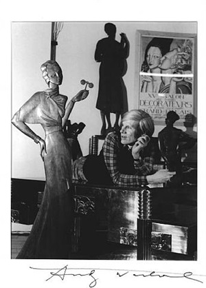 andy warhol by horst p. horst