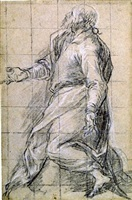 study of a saint by jacopo palma il giovane