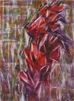 gladiole by christian rohlfs