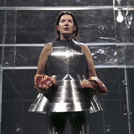 virgin warrior hearts by marina abramović