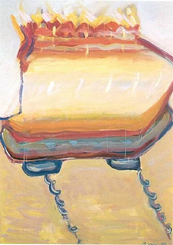 light boat by maria lassnig