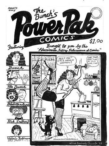 power pak comics by aline kominsky crumb