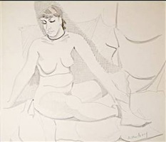 untitled by milton avery