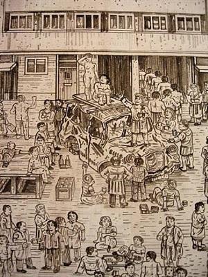 detail: st. paul's by adam dant
