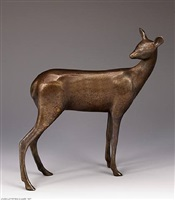 deer 4, maquette 2 by gwynn murrill