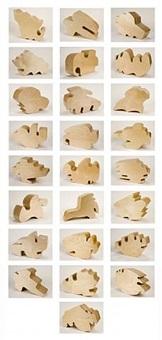 shapes by allan mccollum
