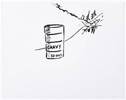 (50 gallons gravy) by william wegman