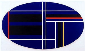 horizontal ellipse by ilya bolotowsky