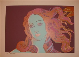 the birth of venus by andy warhol