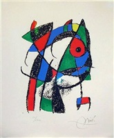 lithograph ii by joan miró