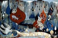 subterranean death clash by camille rose garcia