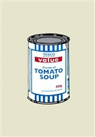 soup can (original colourway) by banksy
