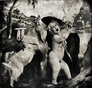apollo and daphne in the garden of olives, los angeles by joel-peter witkin