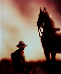 untitled (from the 'wild west' series) by david levinthal