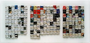 three art magazines 1990 (2k.19/20/21.90) by denmark (marc robbroeckx)
