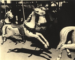 merry go round. street fair. paris by ilse bing