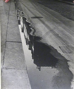 puddle, paris by ilse bing
