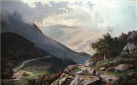 a mountain pass by sidney richard percy