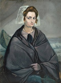 portrait, circa 1928 by émile bernard