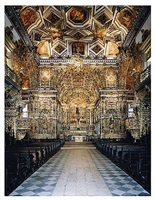 igreja de sao francisco de assis salvador de bahia i by candida höfer