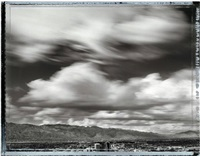 storm clouds over tucson from