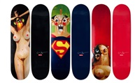 supreme decks (set of 3) by george condo