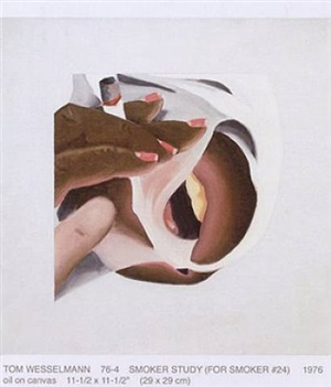 study for smoker by tom wesselmann