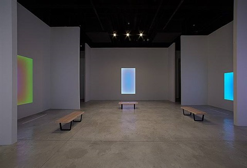 light leadings exhibition view by james turrell