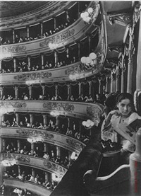 premier at la scala, milan, italy 1934 by alfred eisenstaedt