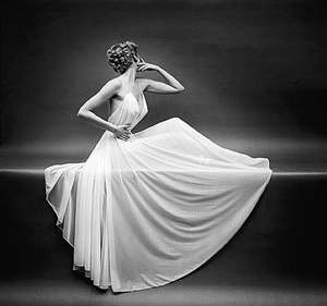 vanity fair sheer gown by mark shaw