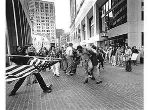 the soiling of old glory, boston by stanley j. forman