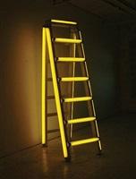 yellow stepladder by iván navarro