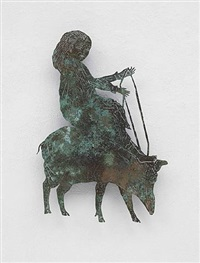 walking pig by kiki smith