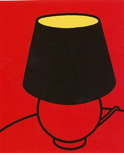 patrick caulfield • michael craig-martin • julian opie the medium is the message by patrick caulfield
