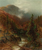 mountain landscape by ralph albert blakelock