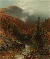 mountain landscape by ralph albert blakelock