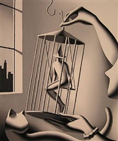 a great catch by mark kostabi