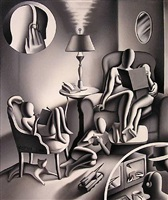 the age of useless information by mark kostabi