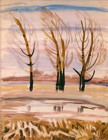 late autumn by charles ephraim burchfield
