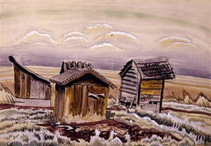 the shacks by charles ephraim burchfield