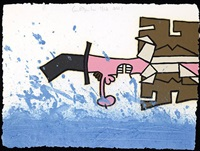 over the water by carroll dunham