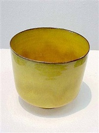 cylindrical bowl by gertrud and otto natzler