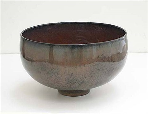 rounded bowl by gertrud and otto natzler