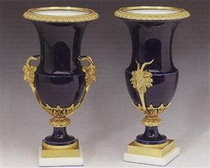 pair of vases, paris